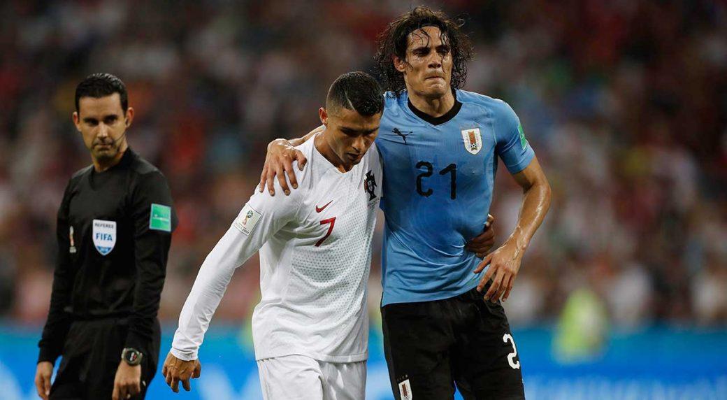 Uruguay forward Edinson Cavani dealing with calf injury - Sportsnet.ca