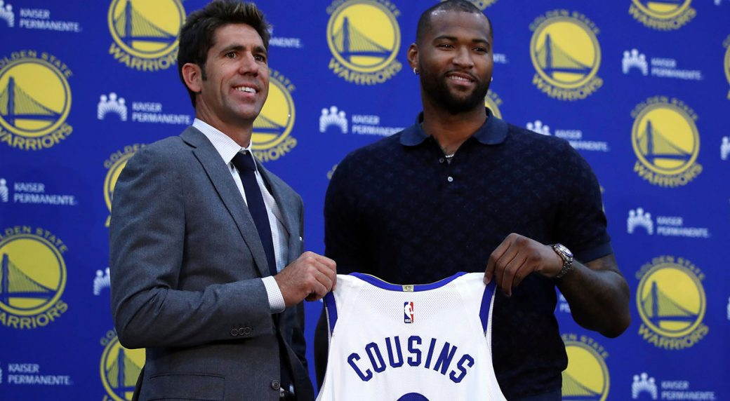 new arrival 6c7ff 4c9b3 DeMarcus Cousins relishing fresh start in Golden State ...