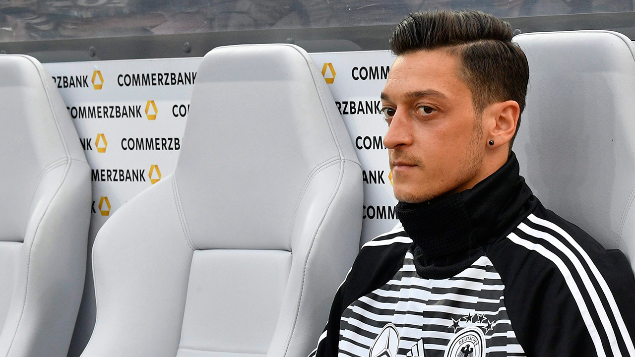 germanys-mesut-ozil-on-bench-at-world-cup