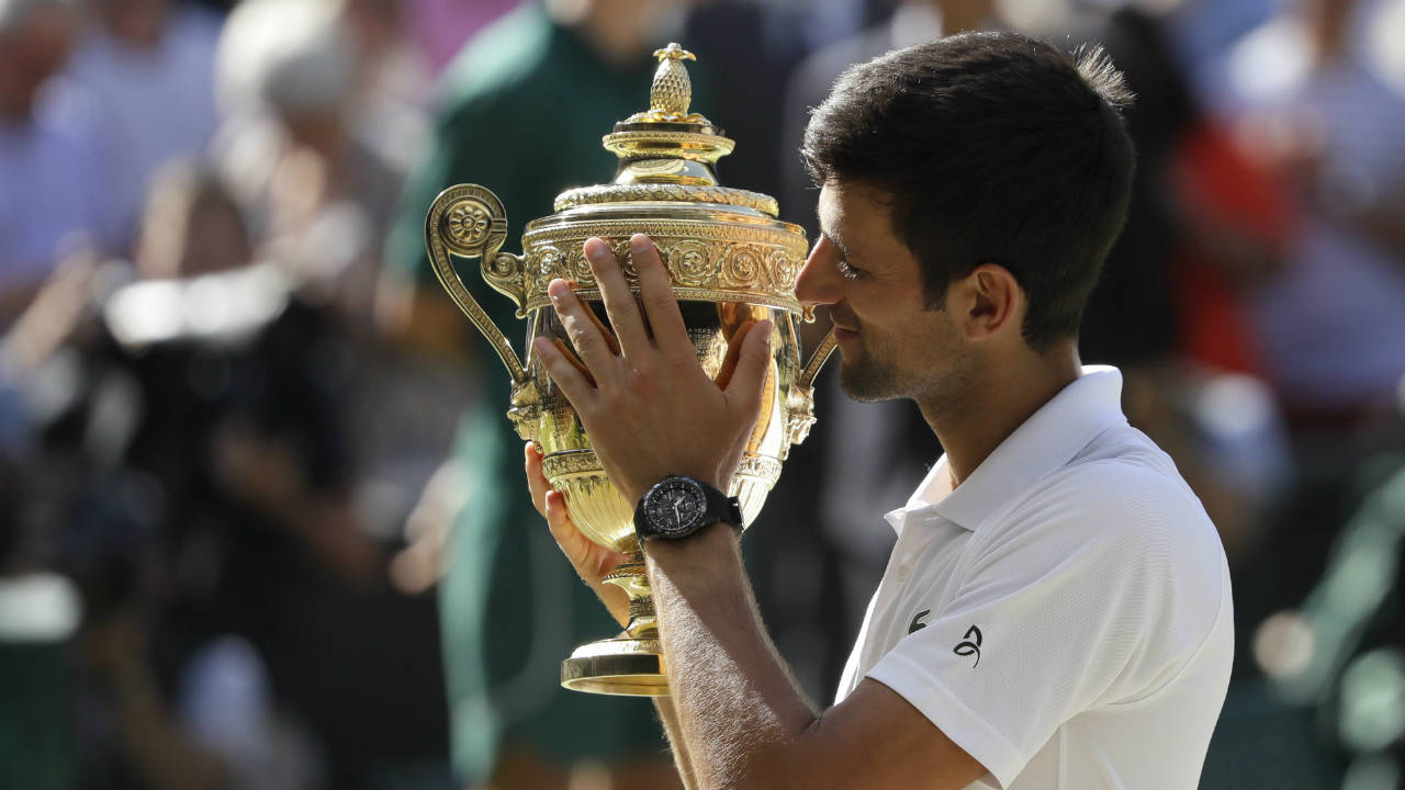 Novak Djokovic Bests Kevin Anderson To Win 4th Wimbledon Title Sportsnet Ca