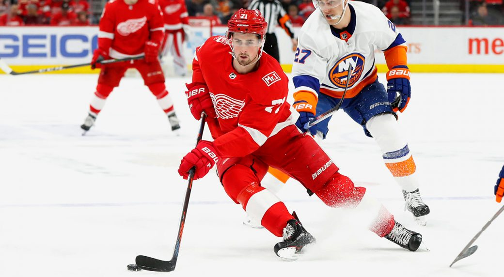 Red Wings name Dylan Larkin as team captain