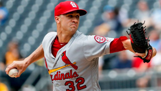 MLB-Cardinals-pitcher-Flaherty-pitching-against-Pirates