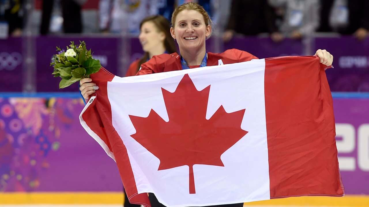 NHL-Canada-Hayley-Wickenheiser-at-Olympics