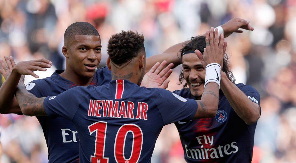 Neymar Mbappe Cavani Guide Psg To 3rd Straight League Win Sportsnet Ca