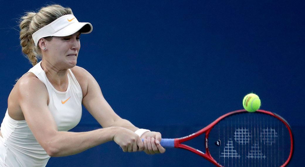 eugenie_bouchard_plays_a_backhand