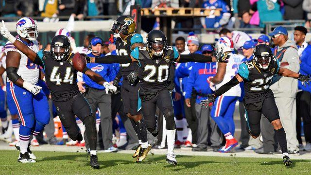 jaguars-cornerback-jalen-ramsey-celebrates-interception