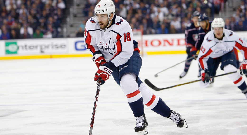 on sale 2cc16 d93c7 Capitals re-sign Chandler Stephenson to one-year, $1.05M ...
