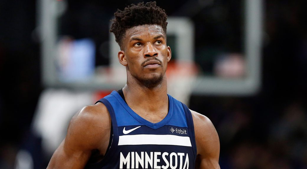 on sale 34e1b cf768 Report: Rockets, 76ers among suitors for Jimmy Butler ...