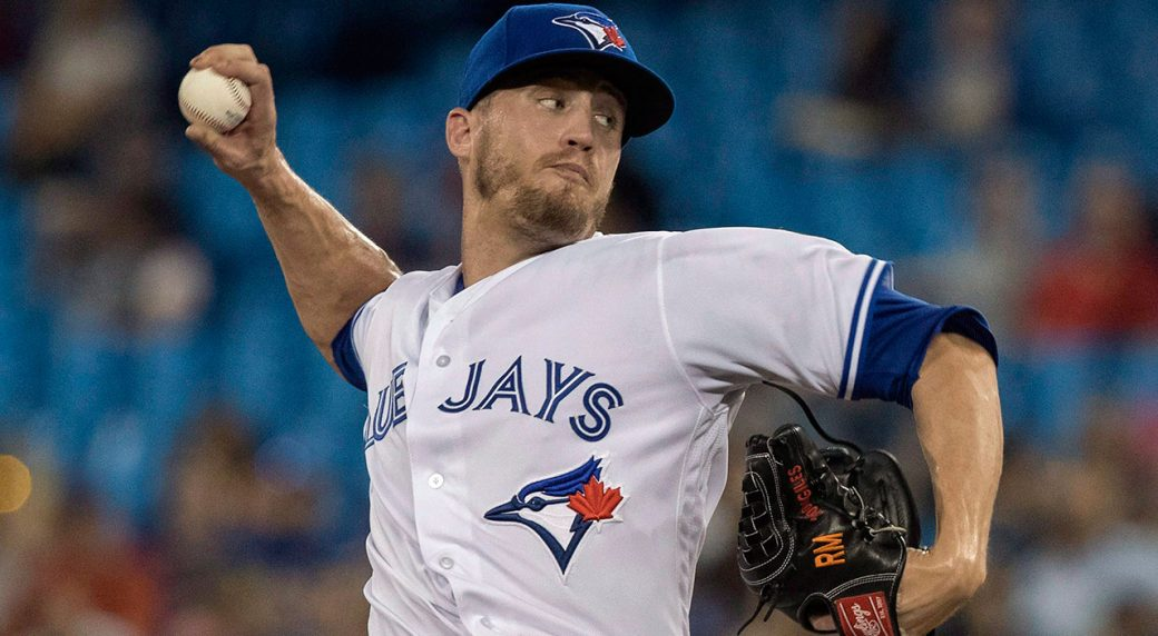 MLB-baseball-Toronto-Blue-Jays-Giles-pitches-against-Red-Sox
