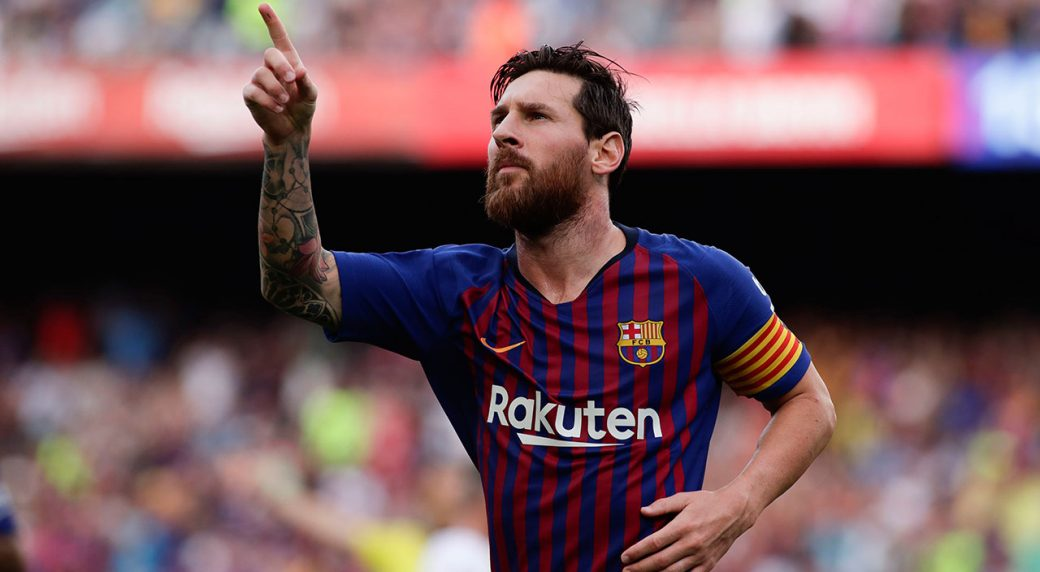 Messi scores two goals, Barca crushes newly promoted Huesca