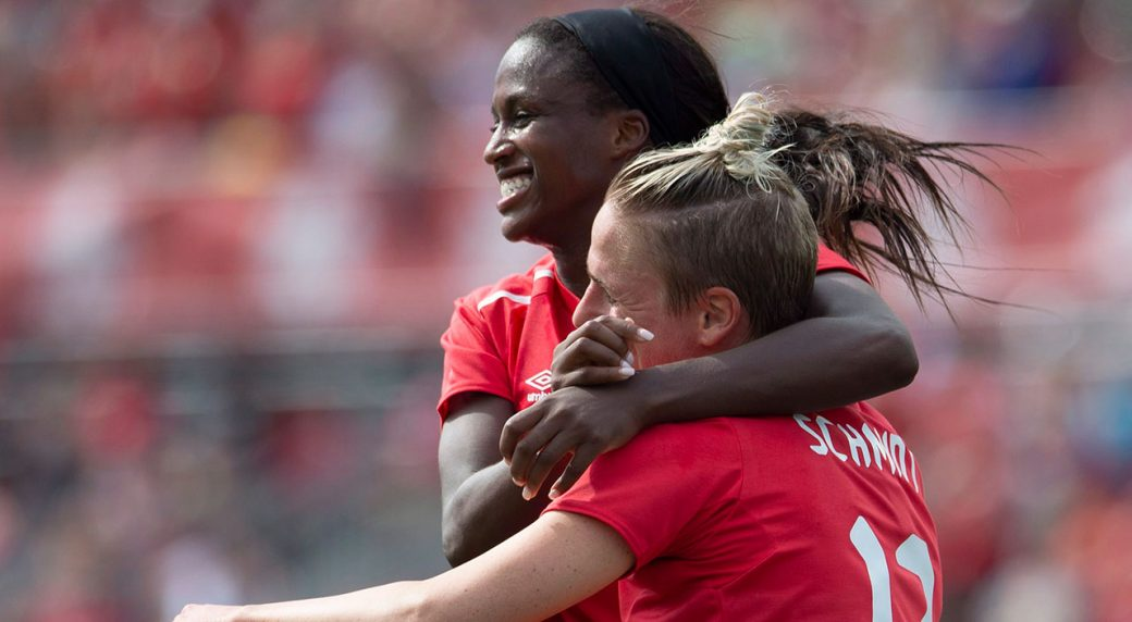 Soccer-Prince-celebrates-goal-for-Canada