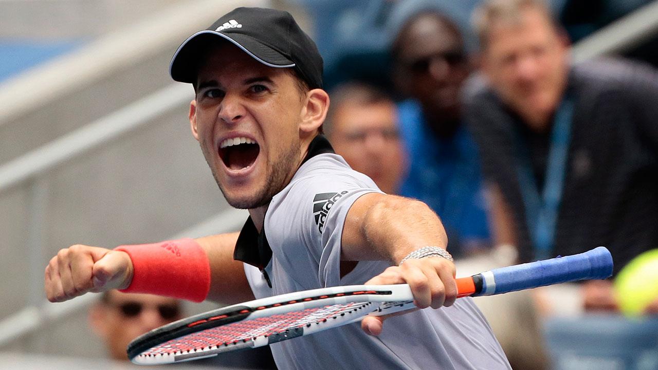 Tennis-Thiem-reacts-after-U.S.-Open-win