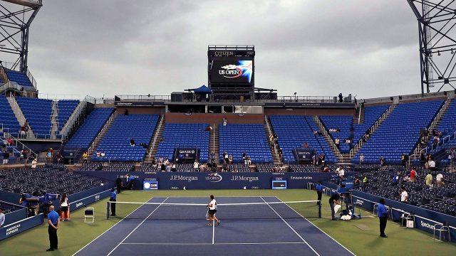Tennis-US-Open-court
