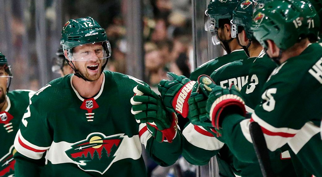 Wild trade Eric Staal for Marcus Johansson