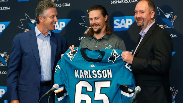 erik-karlsson-introduced-by-san-jose-sharks