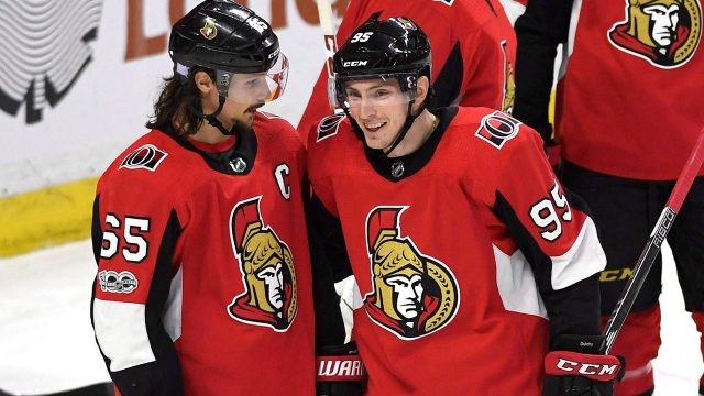 erik-karlsson-speaks-with-matt-duchene