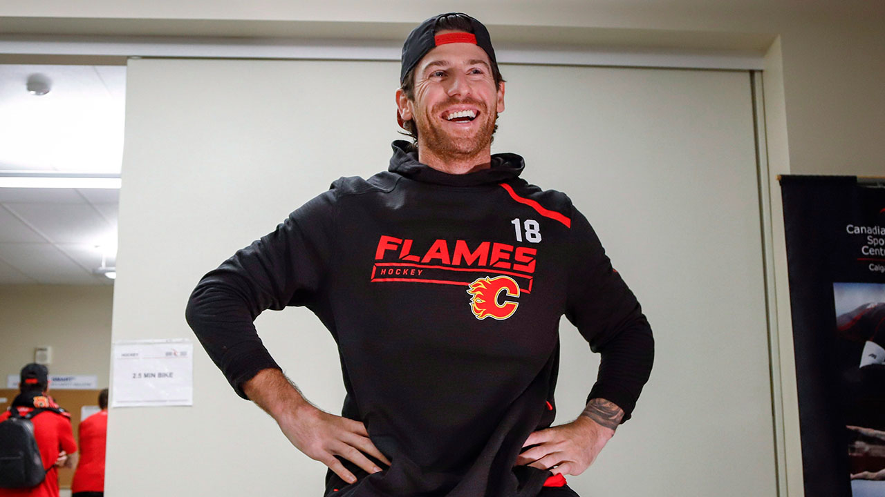 new product c5742 ee04c James Neal sees optimal fit on Flames' top line - Sportsnet.ca