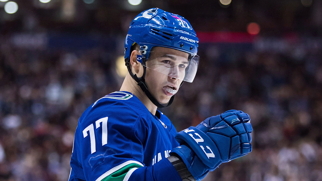 Canucks forward Nikolay Goldobin signs with KHL's CSKA Moscow