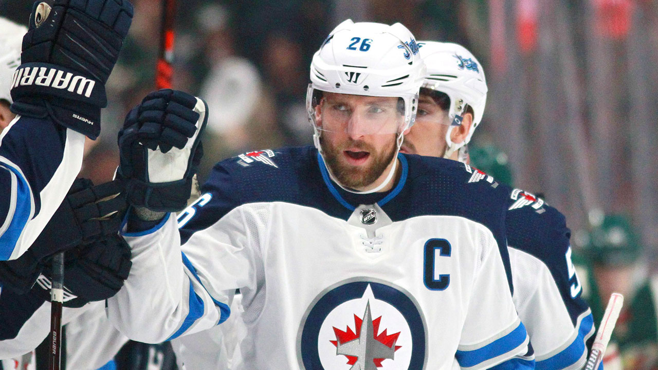 Wheeler's two-point night helps Jets beat Flames in pre-season