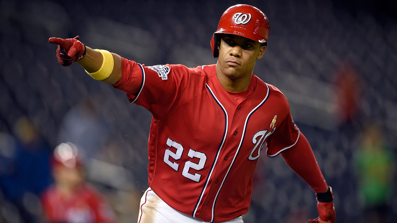 Nationals star Juan Soto tests positive for COVID-19, out for opener -  Sportsnet.ca