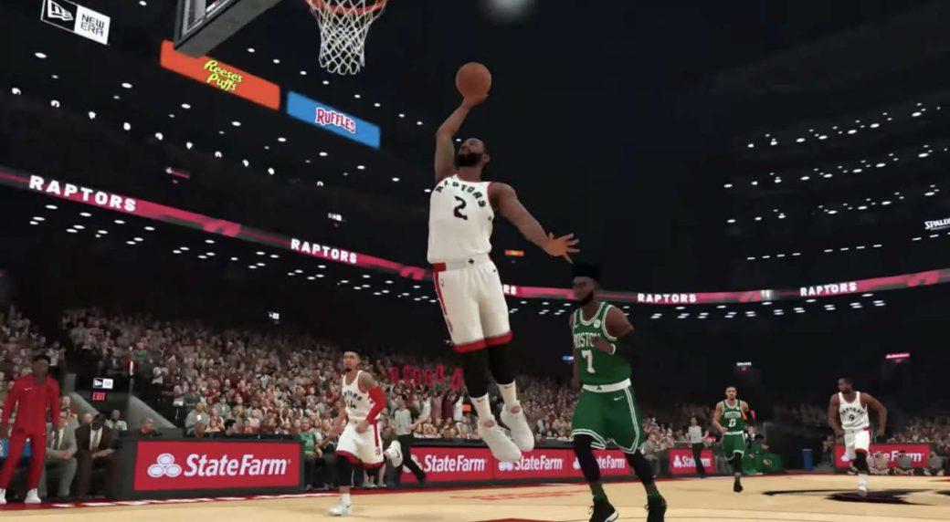 Raptors forward Kawhi Leonard among top-rated NBA 2K19 players