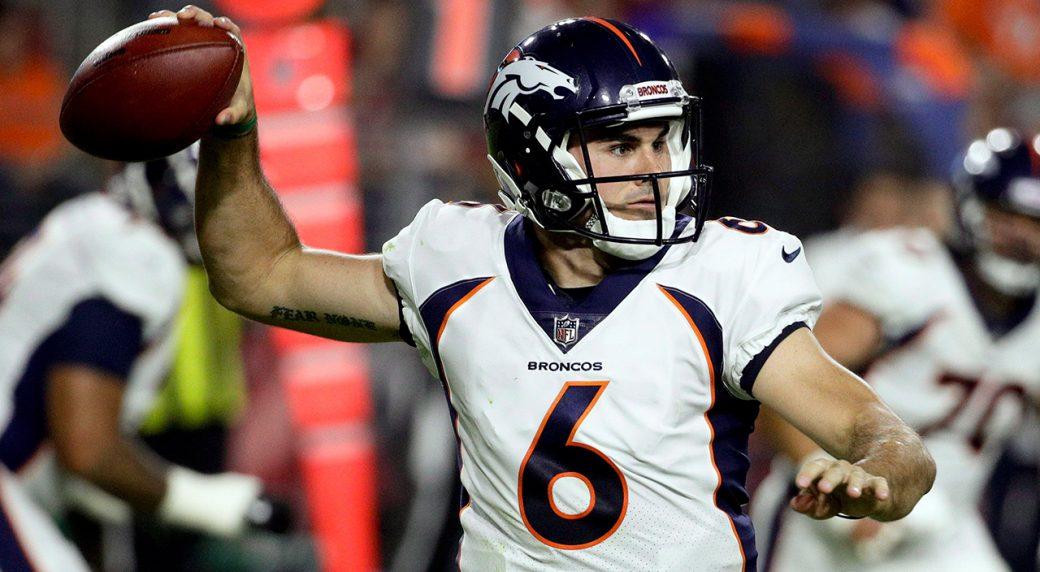 reputable site 9b763 b297f Broncos release quarterback Chad Kelly after arrest ...