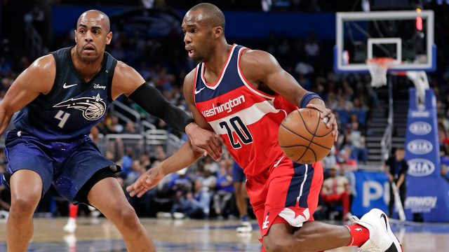NBA-Wizards-Meeks-drives-past-Magic-Afflalo