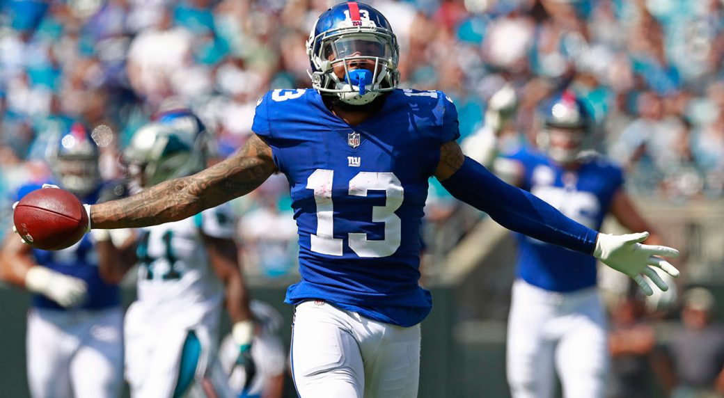 online store 54d59 b493f Report: Patriots aggressively pursued Odell Beckham Jr. last ...
