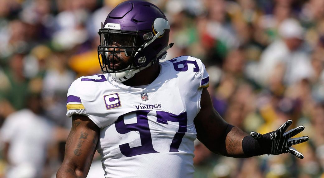 NFL-Vikings-Griffen-playing-against-the-Packers