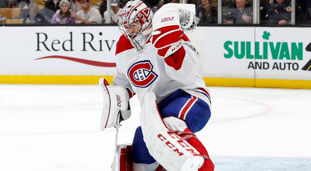 NHL-Canadiens-Carey-Price-makes-save-against-Bruins