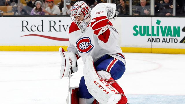 NHL-Canadiens-Carey-Price-makes-save-against-Bruins