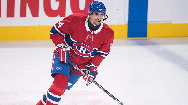 NHL-Canadiens-Plekanec-skates-before-1000th-career-game