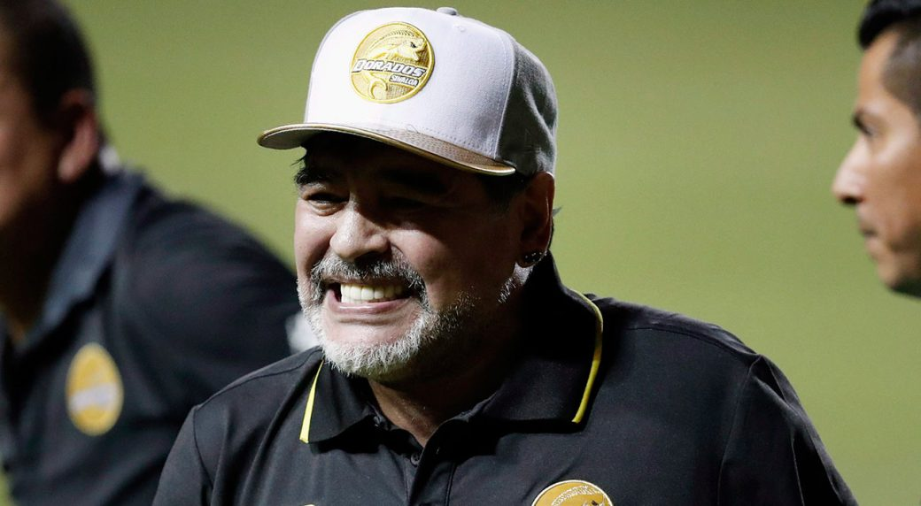 Argentina great Maradona recovering in hospital after anemia, says doctor