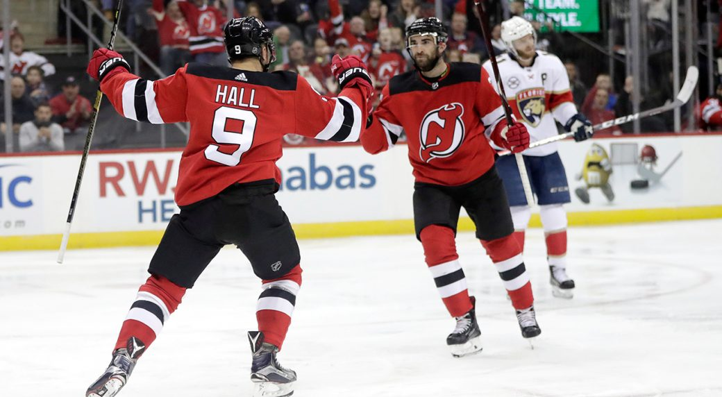 new style 24165 d00c0 Devils' Kyle Palmieri to replace Taylor Hall in all-star ...