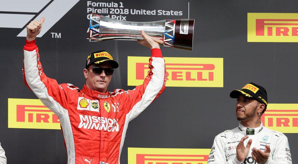 Raikkonen wins U.S. Grand Prix as Hamilton F1 title bid denied -  Sportsnet.ca