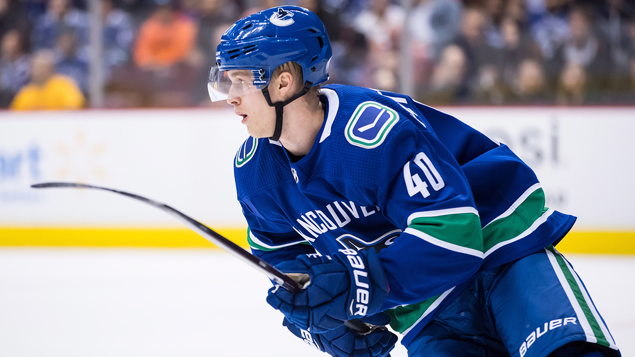 Canucks dynamo Elias Pettersson's skill-set broken down in GIFs