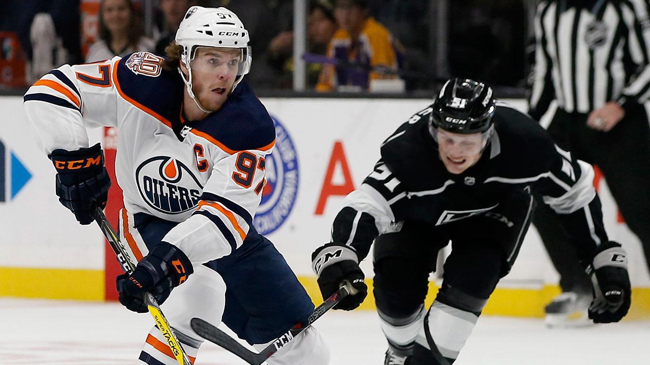 NHL Live Tracker: Oilers vs. Kings