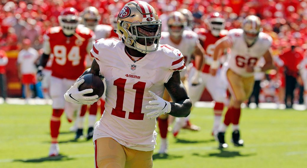 49ers trade WR Marquise Goodwin to Eagles