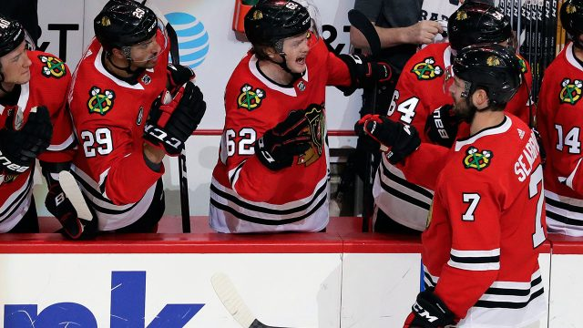 NHL-Blackhawks-Seabrook-celebrates-goal-against-Blues