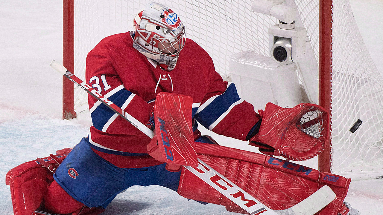 NHL-Canadiens-Price-makes-save-against-Lightning