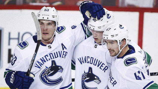 NHL-Canucks-Horvat-celebrates-goal