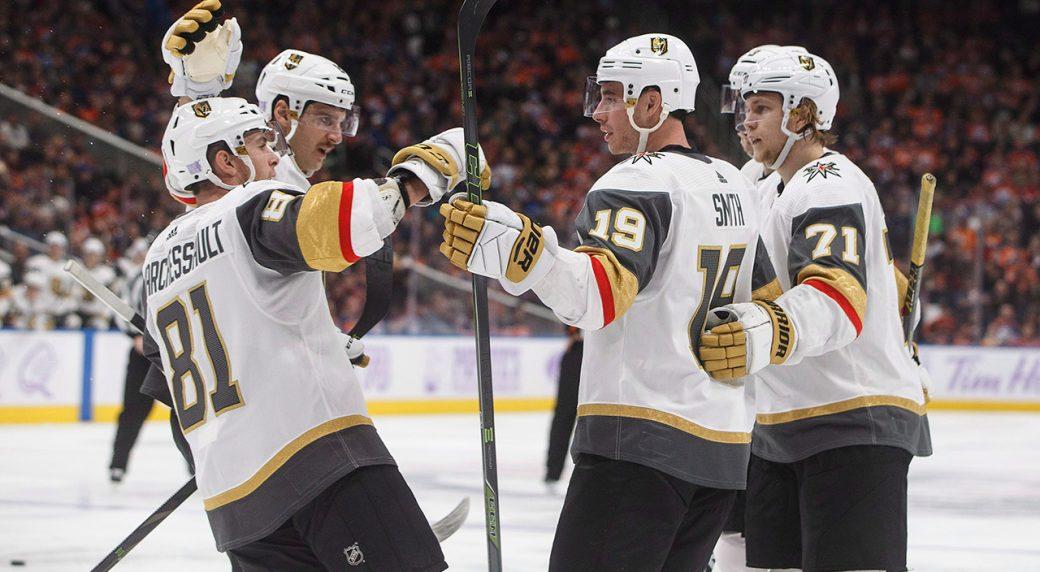 Marchessault scores twice, Golden Knights beat struggling Oilers - Sportsnet.ca