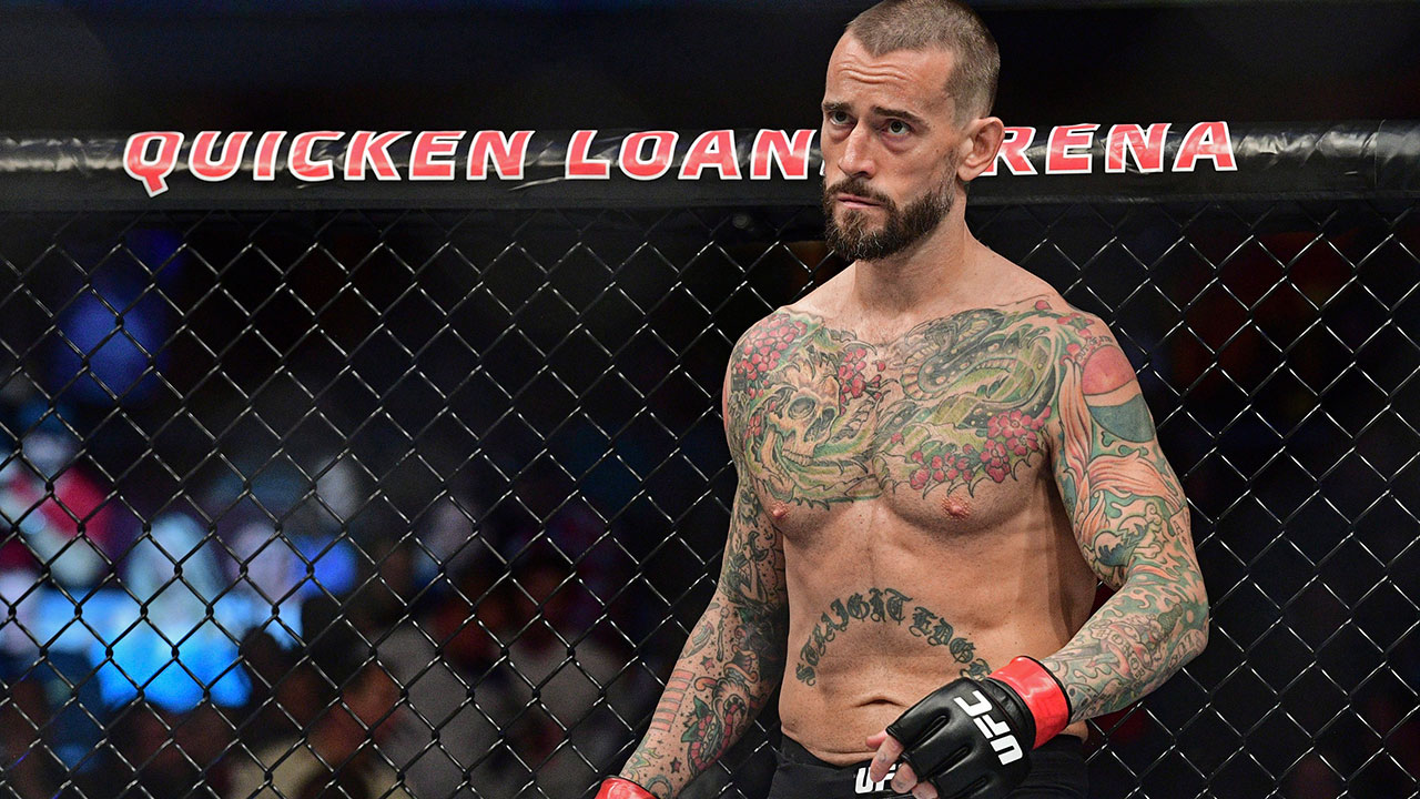 "CM Punk on Undertaker, ""Fight Island,"" and his Blackhawks"