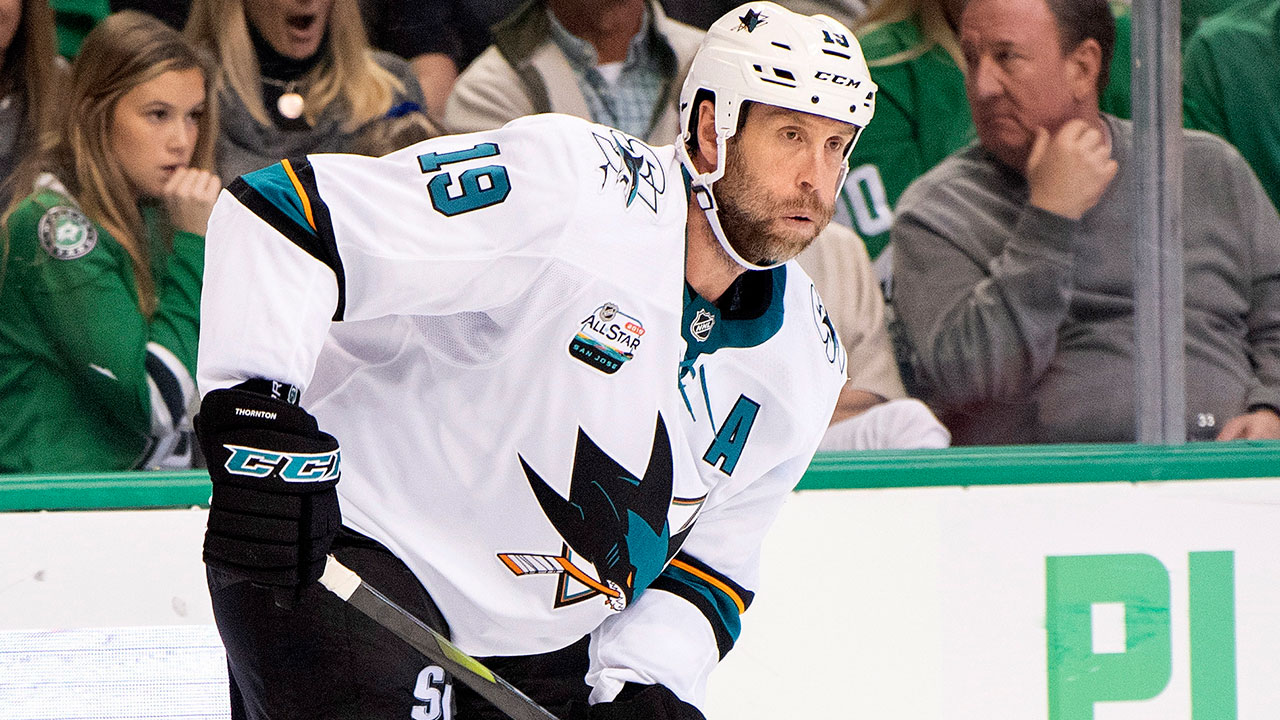 Sharks' Thornton disappointed no one bit on trade-bait
