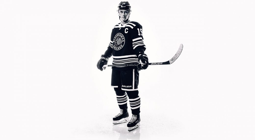 buy online 336cf 1bf72 Blackhawks, Bruins officially unveil Winter Classic jerseys ...