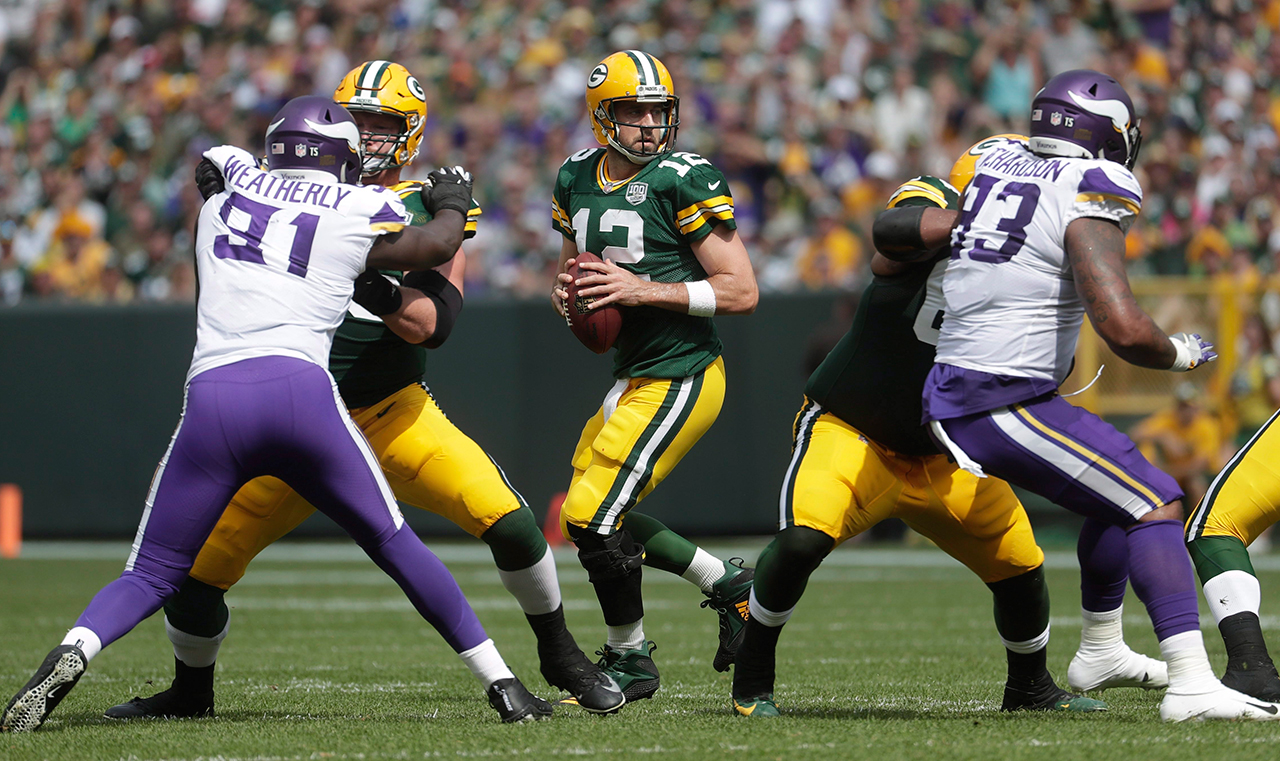 Packers, Patriots among favourites on Week 2 NFL odds