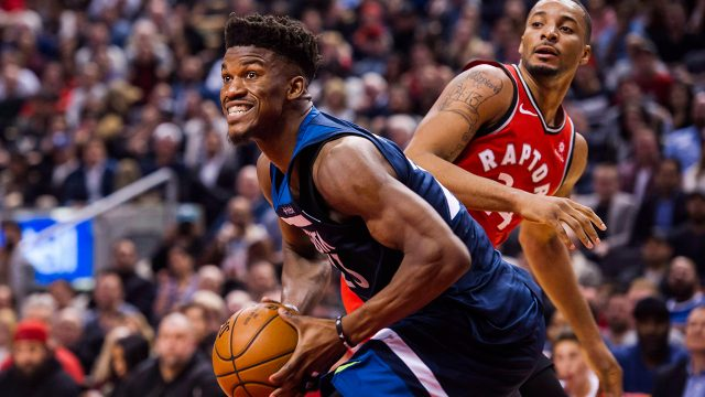 timberwolves-jimmy-butler-goes-up-for-shot-against-toronto-raptors