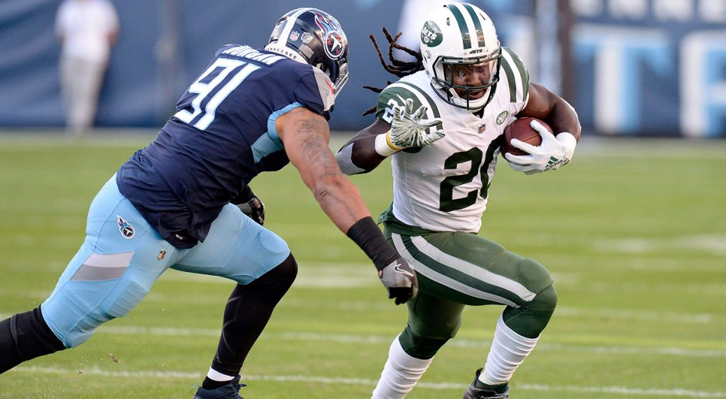 wholesale dealer e8ef1 4131e Jets running back Isaiah Crowell done for season with toe ...