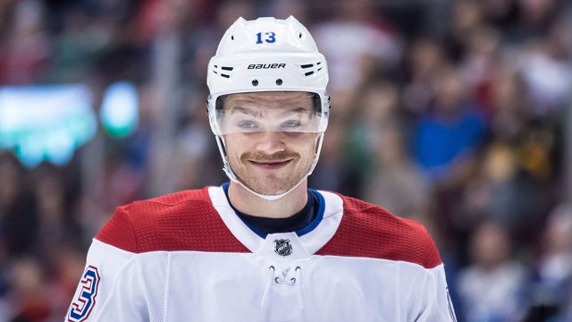NHL-Canadiens-Domi-smiles-during-game