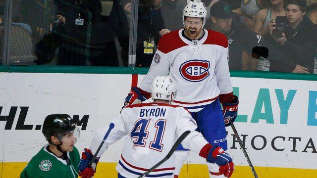 NHL-Canadiens-Petry-celebrates-OT-winner